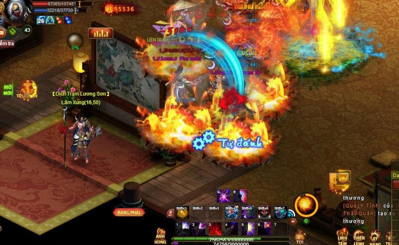 Webgame mới HOT 2015 ! Quái Hiệp - Khai mở server mới lúc 10h ngày 09 - 12 - 2015