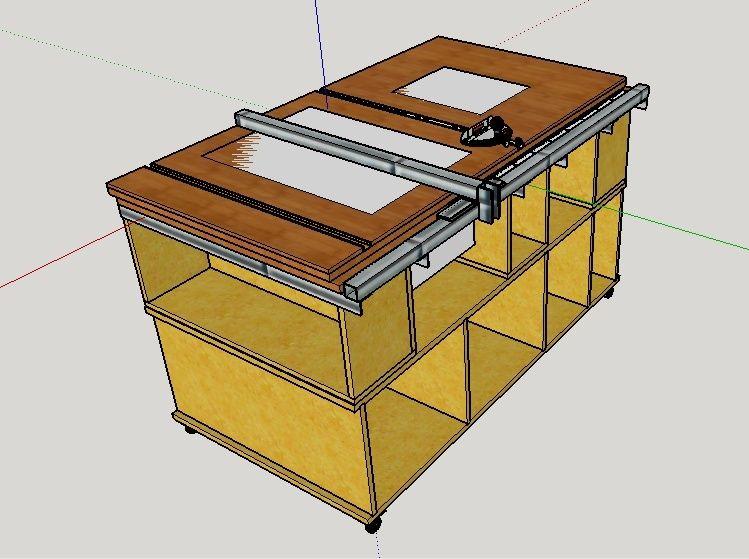 Ma premiere defonceuse sous table - Plan pour fabriquer table forestiere ...
