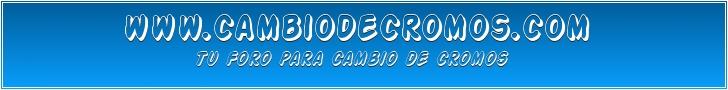 CAMBIO DE CROMOS
