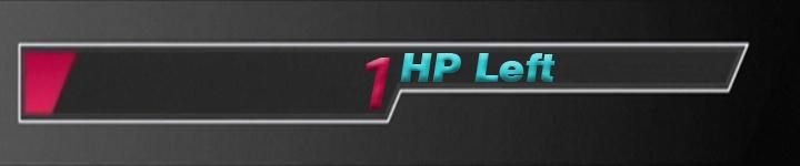 1 HP Left