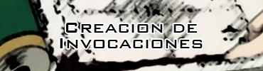 Creacion de invocaciones