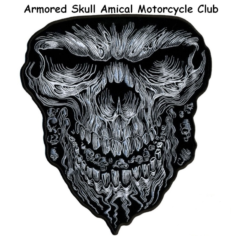 Armored Skull Amical Motorcycle Club