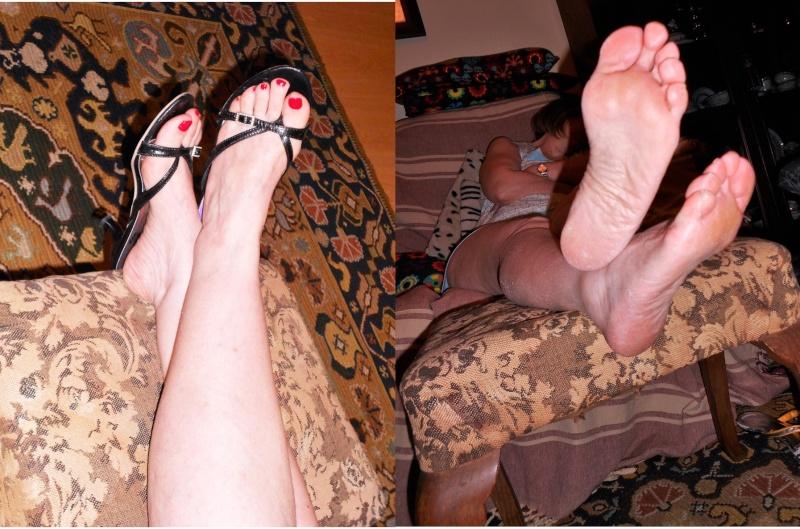 Pieds fétichisme des orteils